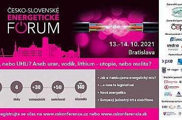 ČESKO-SLOVENSKÉ ENERGETICKÉ FÓRUM