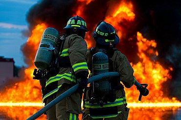 V pražském Suchdole uniká plyn z výkopu, hasiči evakuovali několik domů
